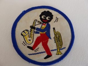Eight Vintage 1970s Robertsons Jam Golly Cloth Badges