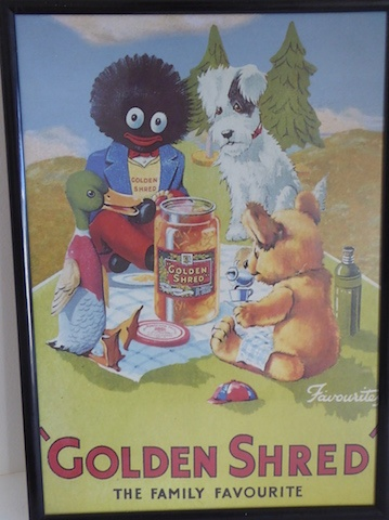 Framed Print of Golliwog Picnic