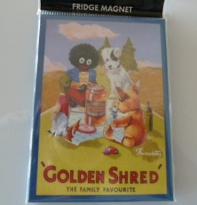 Golden Shred Golliwog Fridge Magnet