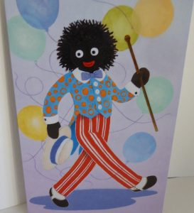 Golliwog Greeting Card2