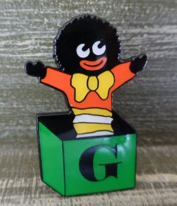 Golliwog Jack In The Box Brooch