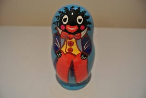 Small Set of Golliwog Babushka Dolls
