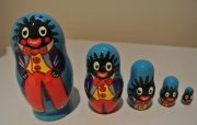 Small Set of Golliwog Babushka Dolls1