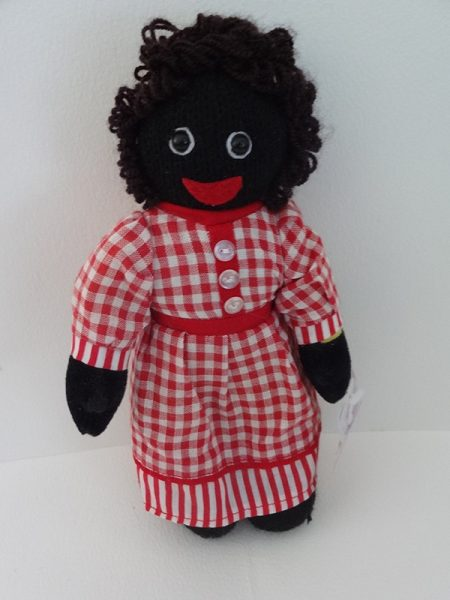 Girl Golliwog in Red Gingham