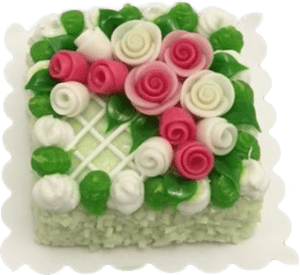 Miniature-Square-Cake