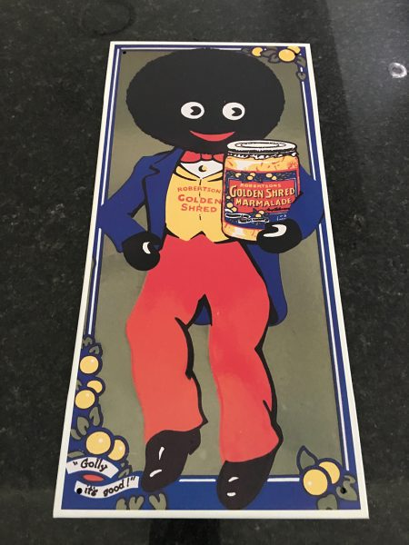 ROBERTSONS GOLDEN SHRED TIN SIGN PRE LOVED