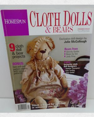 Homespun Cloth Dolls and Bears magazine