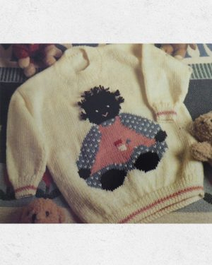 Needleworks Magazine with Golliwog Pattern
