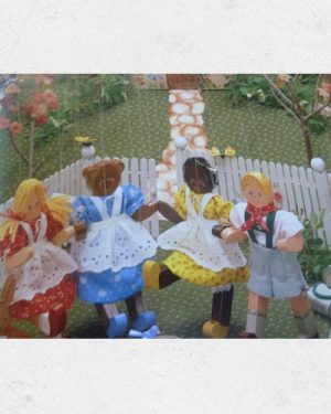 Golliwog Pattern: New Friends at Cottage Corner