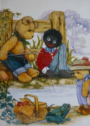 Golliwog Greeting Card 4