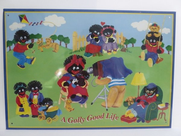Tin Sign: Golly Good Life