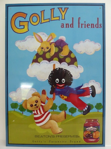 Tin Sign: Golly and Friends