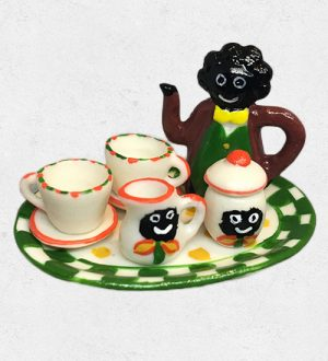 Golliwog Miniature Coffee Set