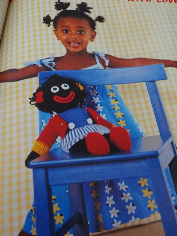 Handmade Magazine - Knitted Girl Golly Doll - All Things ...