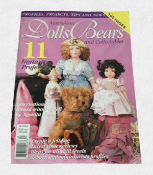 Australian Dolls, Bears and Collectibles Magazine with Goliwog Pattern