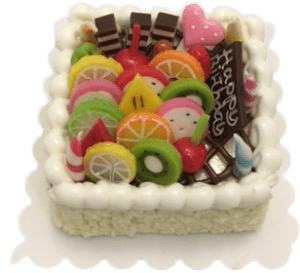 Miniature Square Cake