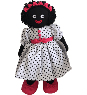 Kate Finn: Lula 41cm Red Golliwog