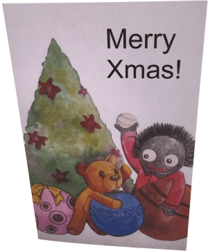 Card with Envelope: Merry Xmas!