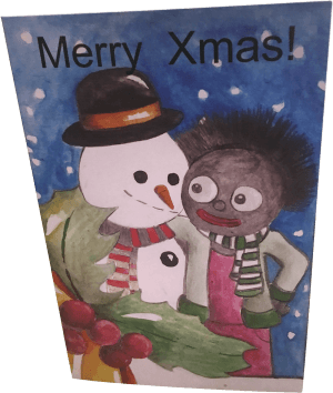 Merry Xmas! Card with Envelope