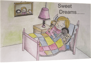 Sweet Dreams Card with envelope
