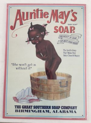 Tin Sign: Aunty Mays Soap