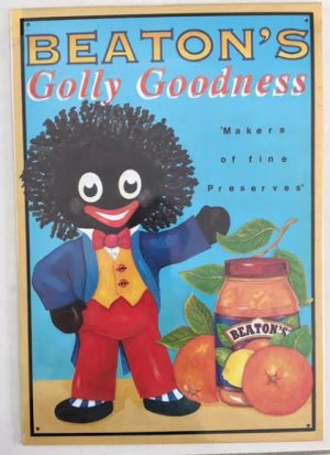 Tin Sign: Beatons Golly Goodness
