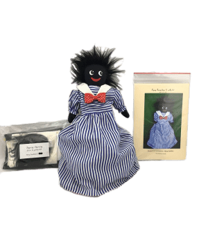 Pattern: Topsy Turvy Golliwog and Bear Kit