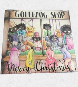 Golliwog Card with envelope