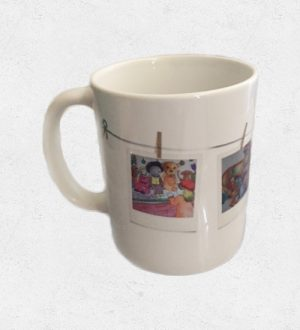 Mug: Golliwog and teddy