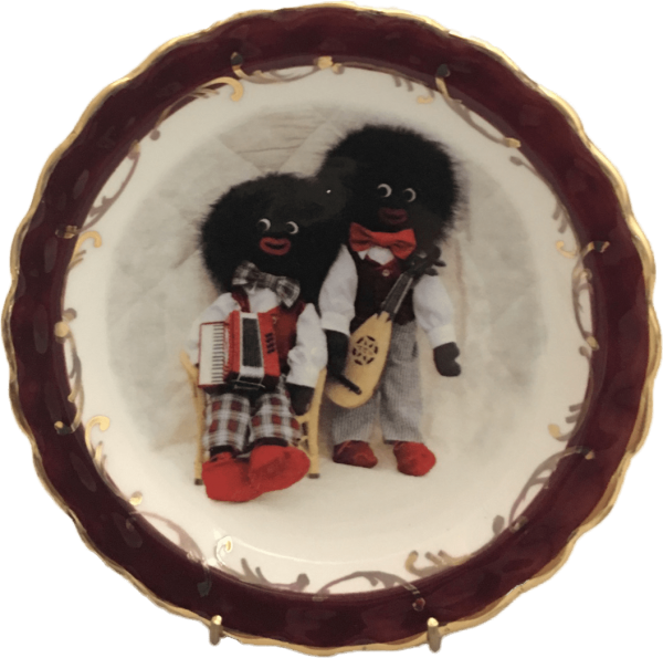 Round Plate Musical Golliwogs