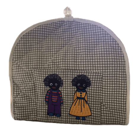 Green Tea Cosy with Golliwog