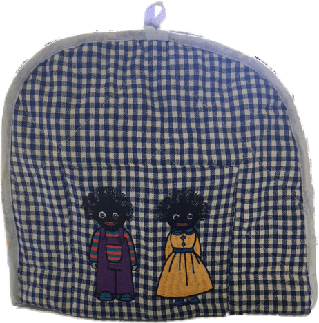 Blue Tea Cosy with Golliwogs