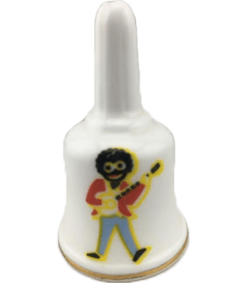 Bell with Golliwog playing Guitar