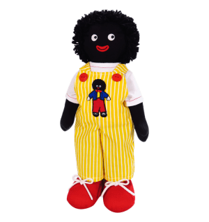 Kate Finn: George Yellow 41cm Golliwog
