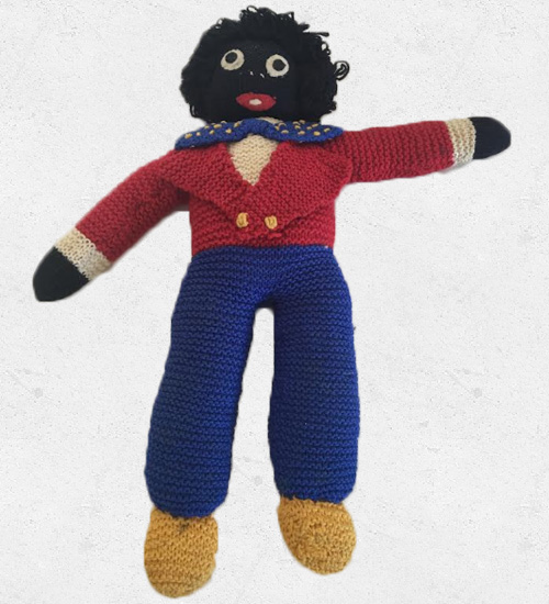 Knitted Golly 45cm All Things Golliwog