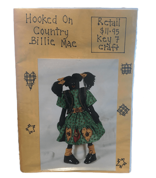Golliwog Pattern: Hooked on Country Billie Mae