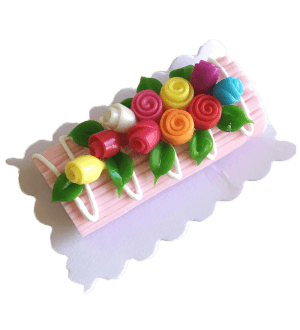 Miniature Cake - Flowers