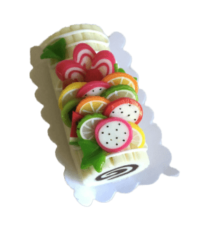 Miniature Cake - Fruits