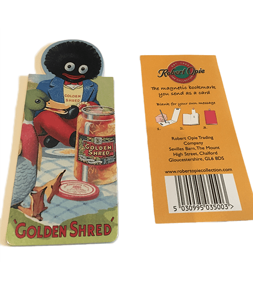 Magnetic Golliwog Bookmark