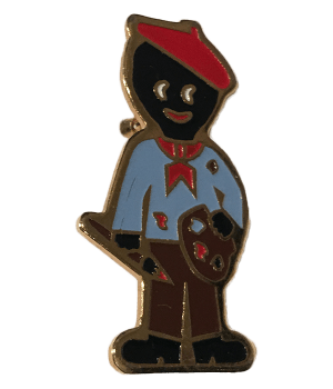 Robertsons Badge: Artist Golliwog