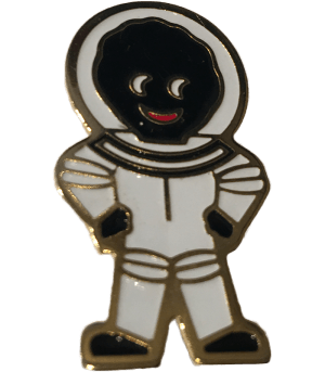 Robertsons Badge: Astranaut Golliwog