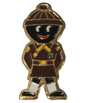 Robertsons Badge: Brown Beanie Golliwog