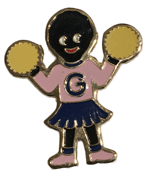 Robertsons Badge: Cheerleader Golliwog