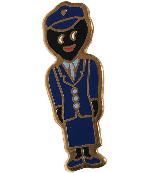 Robertsons Badge: Conductor Golliwog