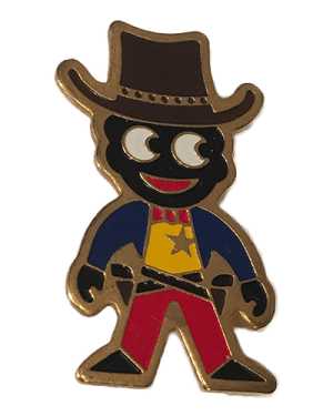 Robertsons Badge Cowboy Golliwog