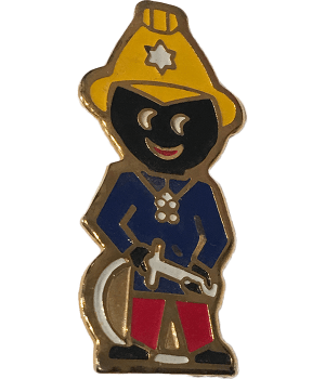 Robertsons Badge: Fireman Golliwog