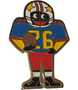 Robertsons Badge of Gridiron 26 Golliwog
