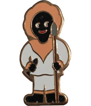 Robertsons Badge: Ice Fishing Golliwog