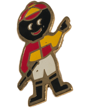 Robertsons Badge: Jockey Golliwog