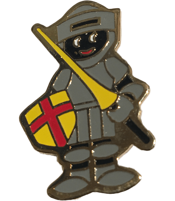 Robertsons Badge: Knights in Armour Golliwog